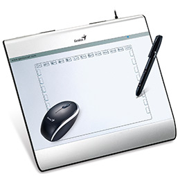 Tableta Digitalizadora Genius Mousepen I608 6 X 8 Pulgadas
