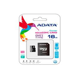 Adata Micro Sd De 16 Gb Clase 10, Velocidad Transferencia