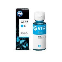 Botella De Tinta Hp Gt52 Cyan, 70Ml