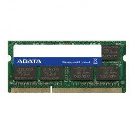 Adata Memoria Ram Ddr3L 4Gb Portatil Frecuencia 1600Mhz Sod