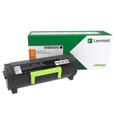 Toner Lexmark 51B4000 Negro, 2500 Paginas