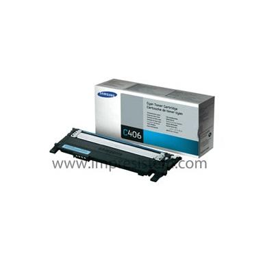 Toner Samsung Clt-C406S Cian
