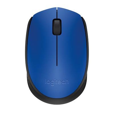 Logitech Mouse Inalambrico M170 Usb Azul