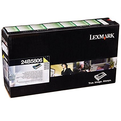 Toner Lexmark 24B5806 Amarillo, 10.000 Paginas