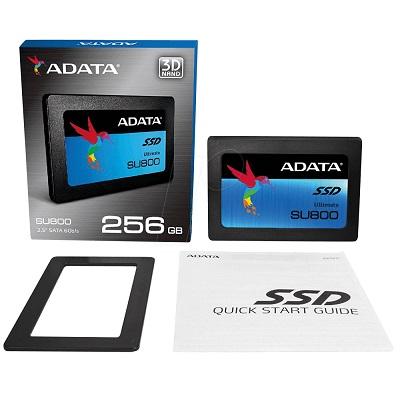 Disco Duro Estado Solido Adata Su800 Ssd 256Gb 2.5 Sata