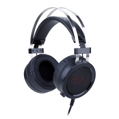 Diadema Gamer Auricular Scylla 3,5 Microfono Redragon H901