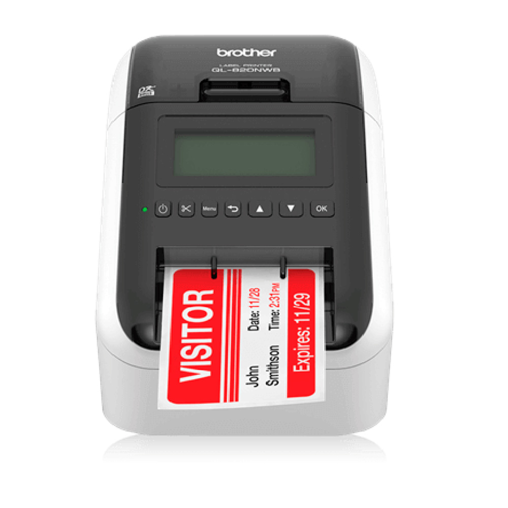 Impresora De Etiquetas Brother Ql-820Nwb Usb Wifi