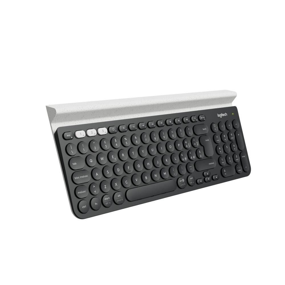 Teclado Logitech K780, Inalámbrico, Bluetooth, Español
