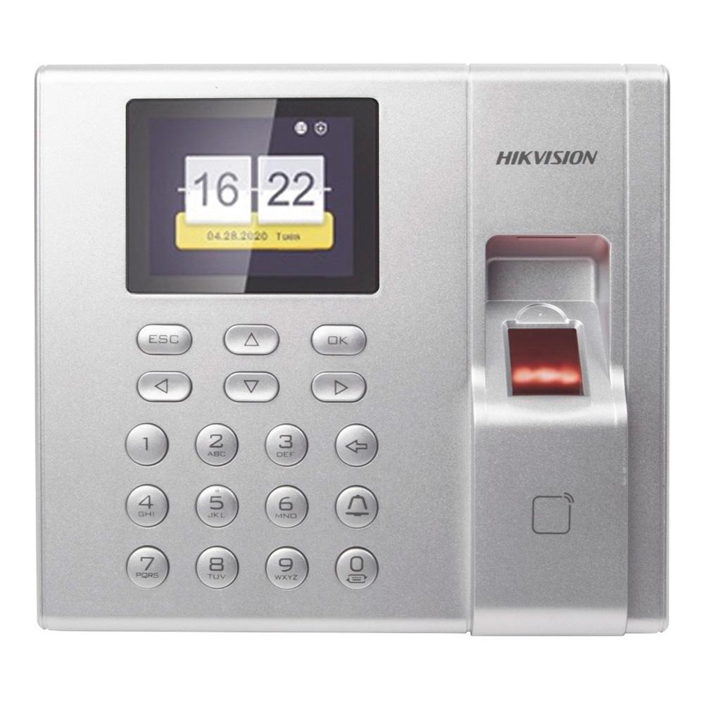 Controlador De Asistencia Biometrico Hikvision Ds-K1T8003Mf