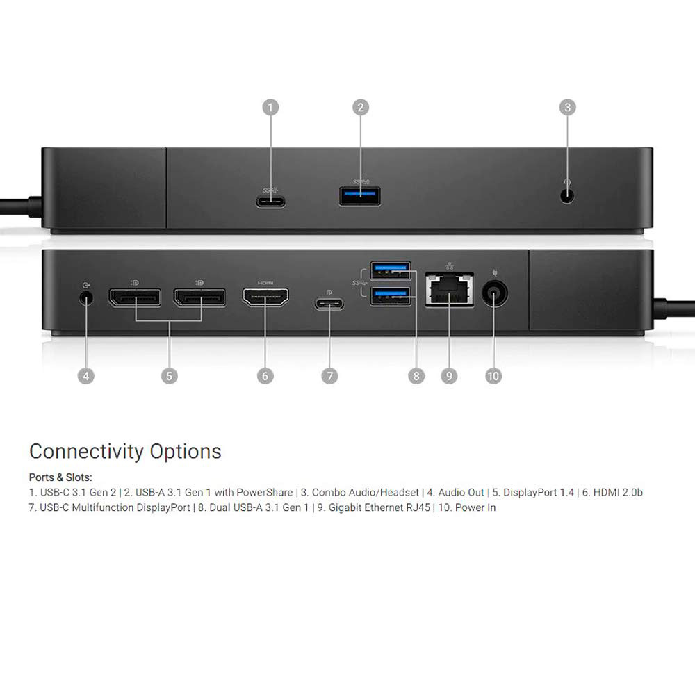 Dell Docking Station - Wd19 130W