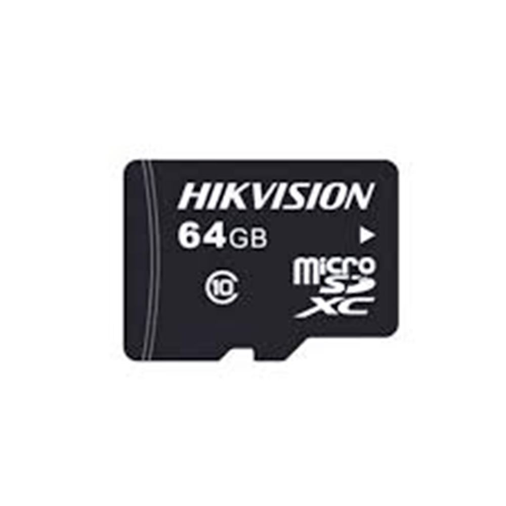 Memoria Flash Hikvision Hs-Sd-P10Std, 64Gb Videovigilancia