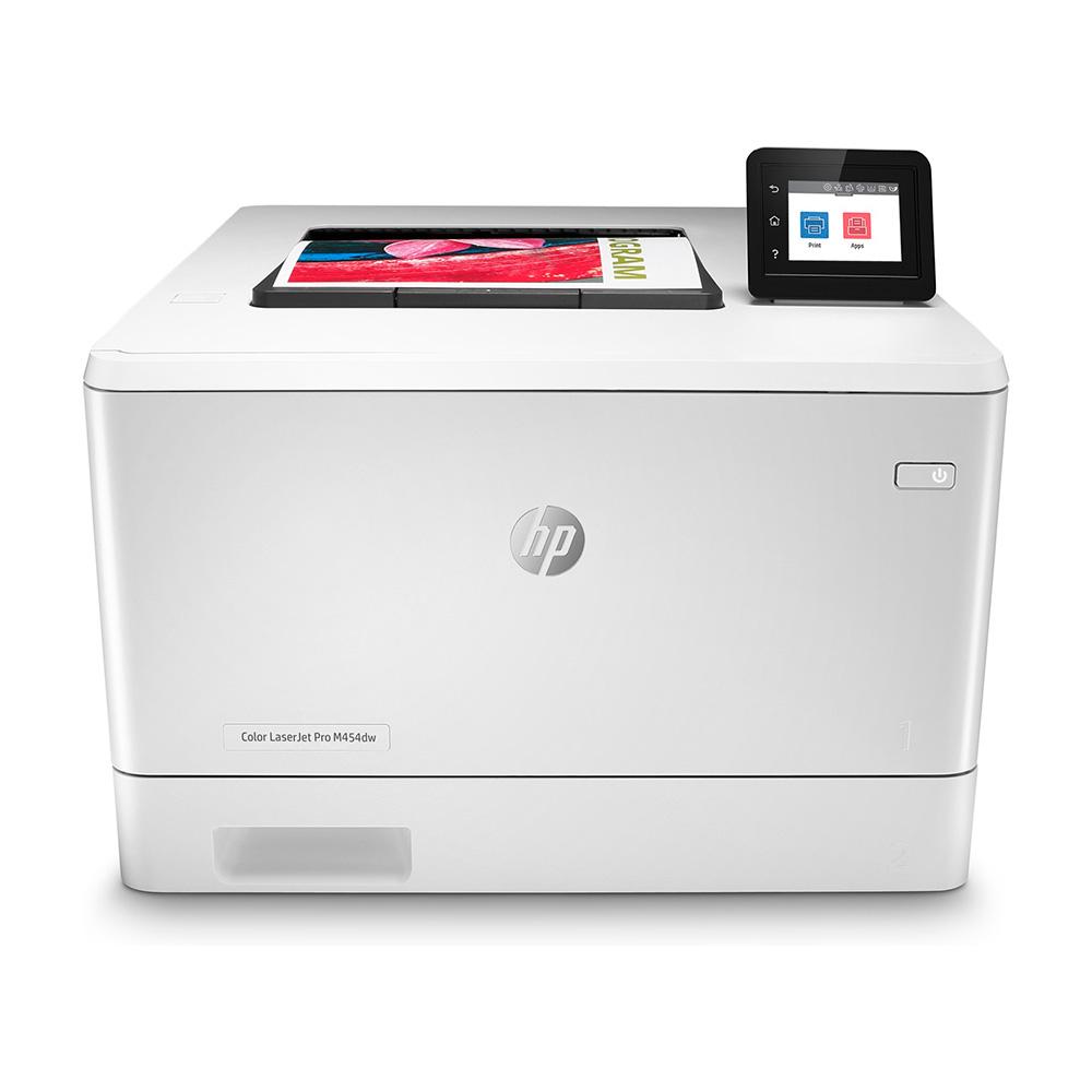 Hp Impresora Color Laserjet Pro M454dw, Imprime Velocidad