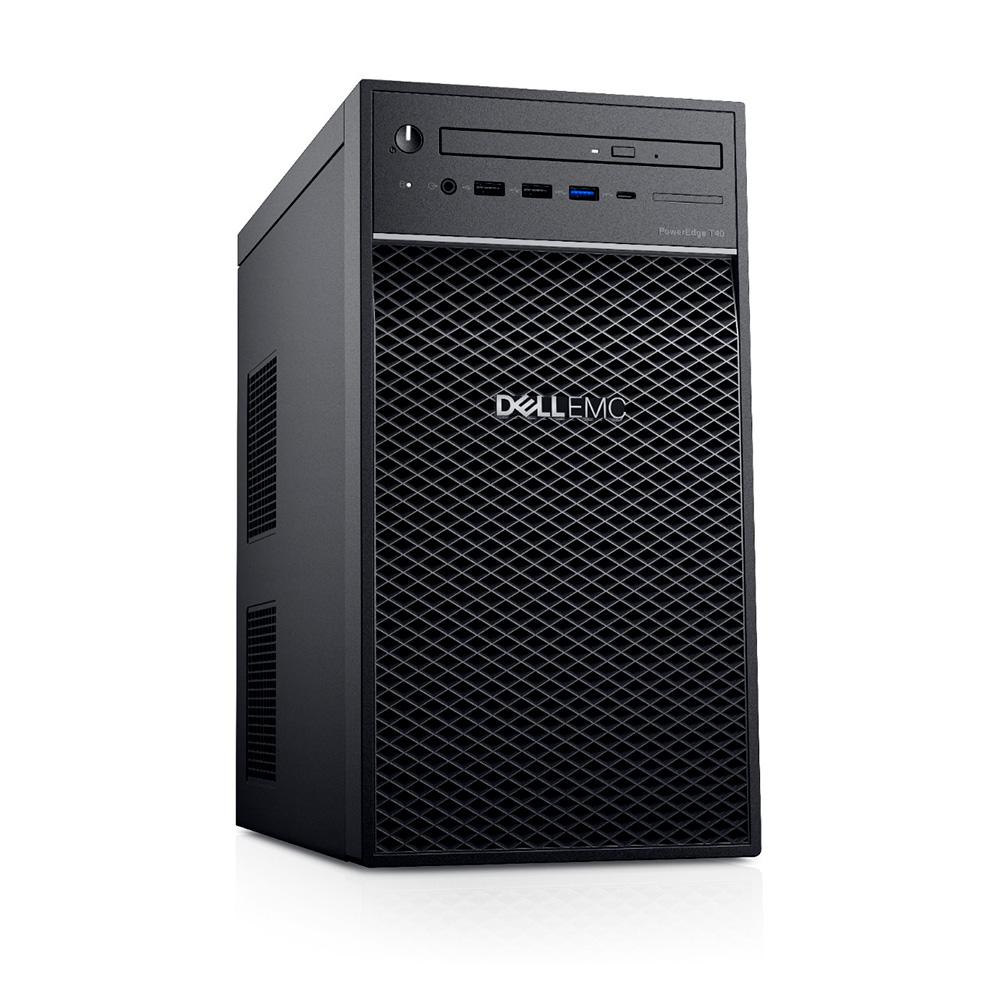 Dell Servidor Torre Poweredge T40 Intel Xeone-2224g, 3.5 Ghz