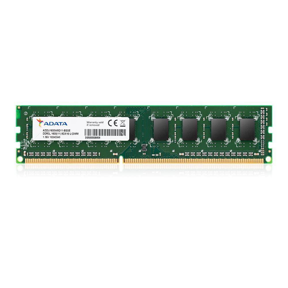 Adata Memoria Ram Pc Ddr3 8Gb 1600Mhz