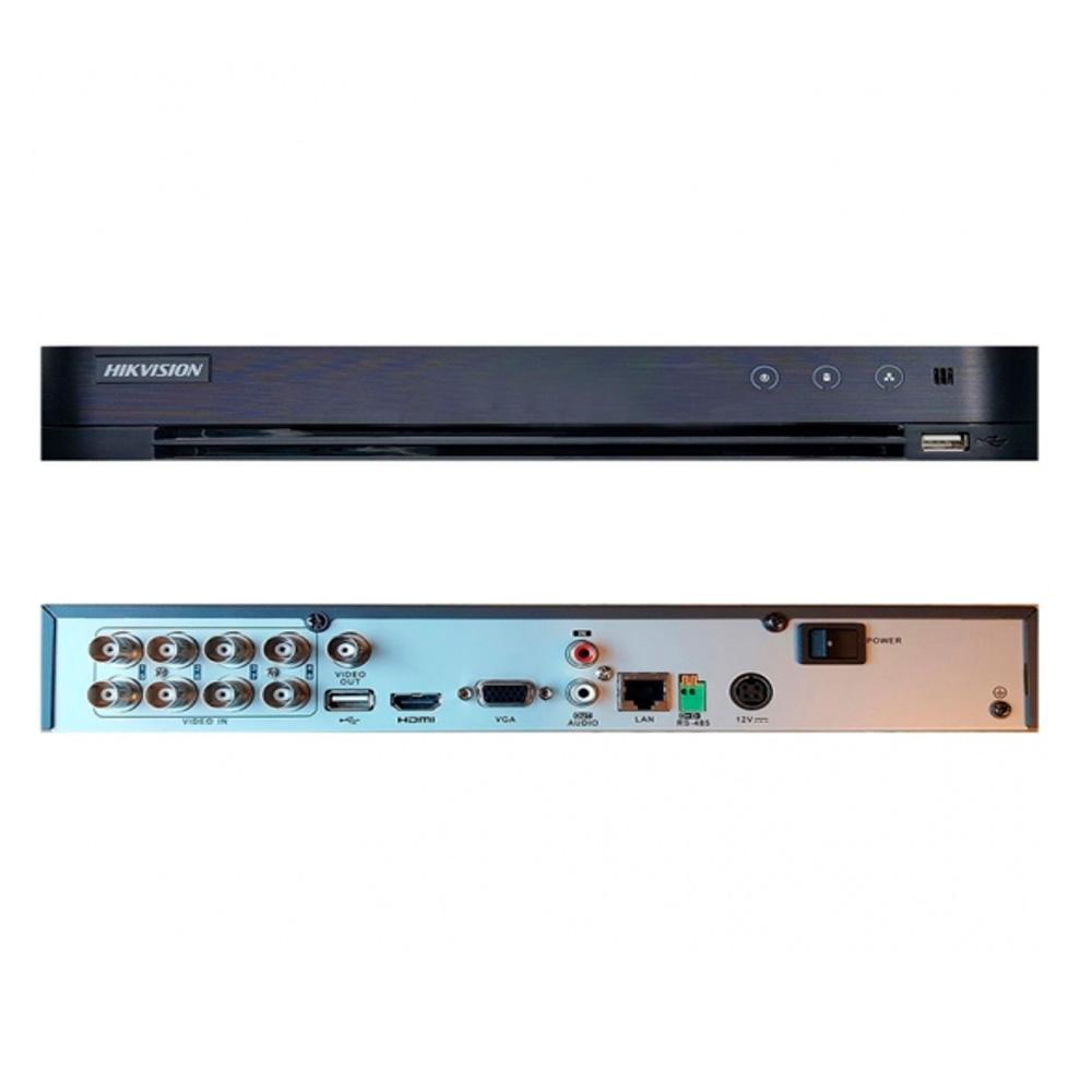 Dvr Hikvision Ds-7208Hqhi-K1(S) 8 Ch 4 Ip 4Mp