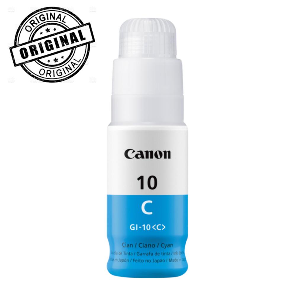 Botella de tinta Canon GI-10 C Cian