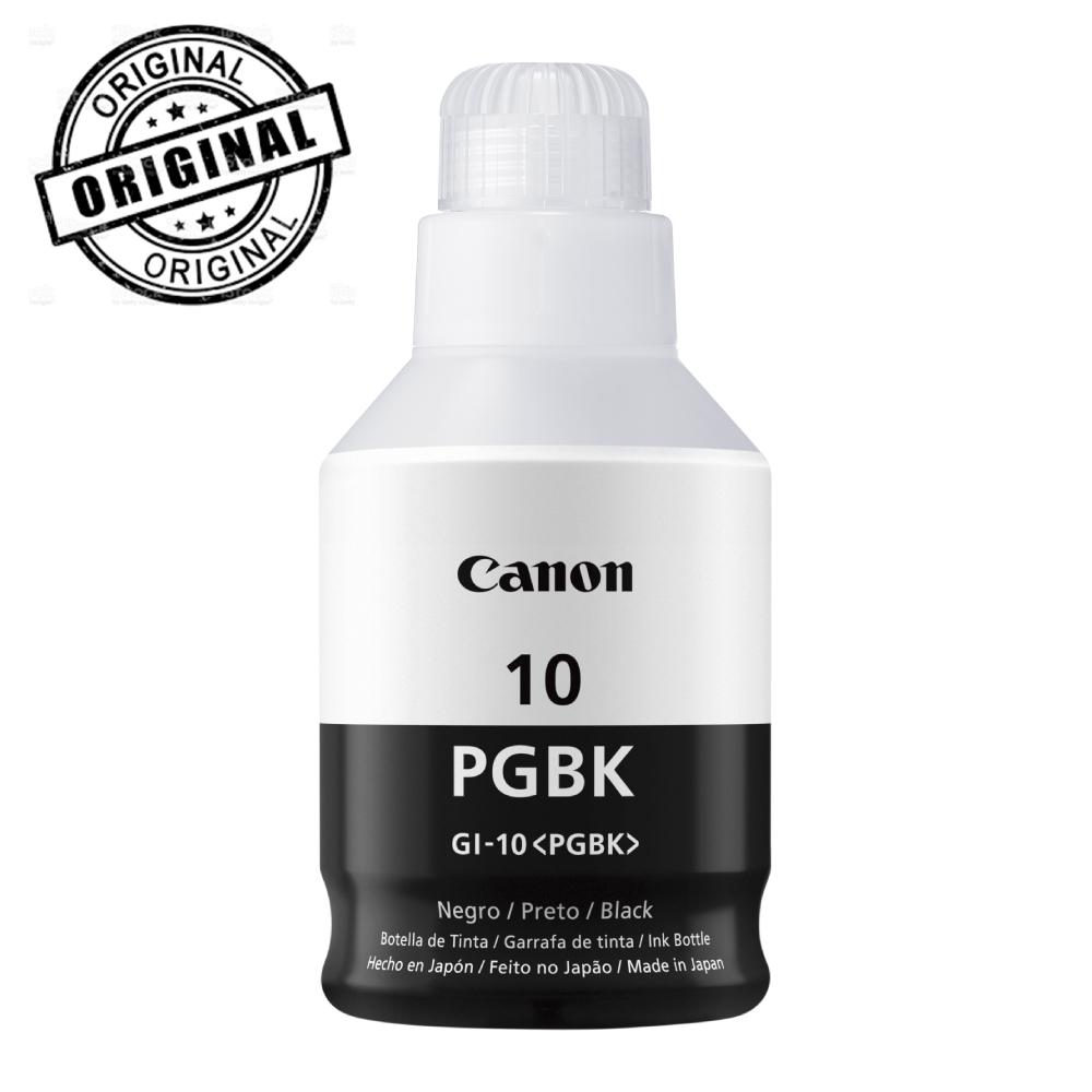 Botella de tinta Canon GI-10 PGBK Negra