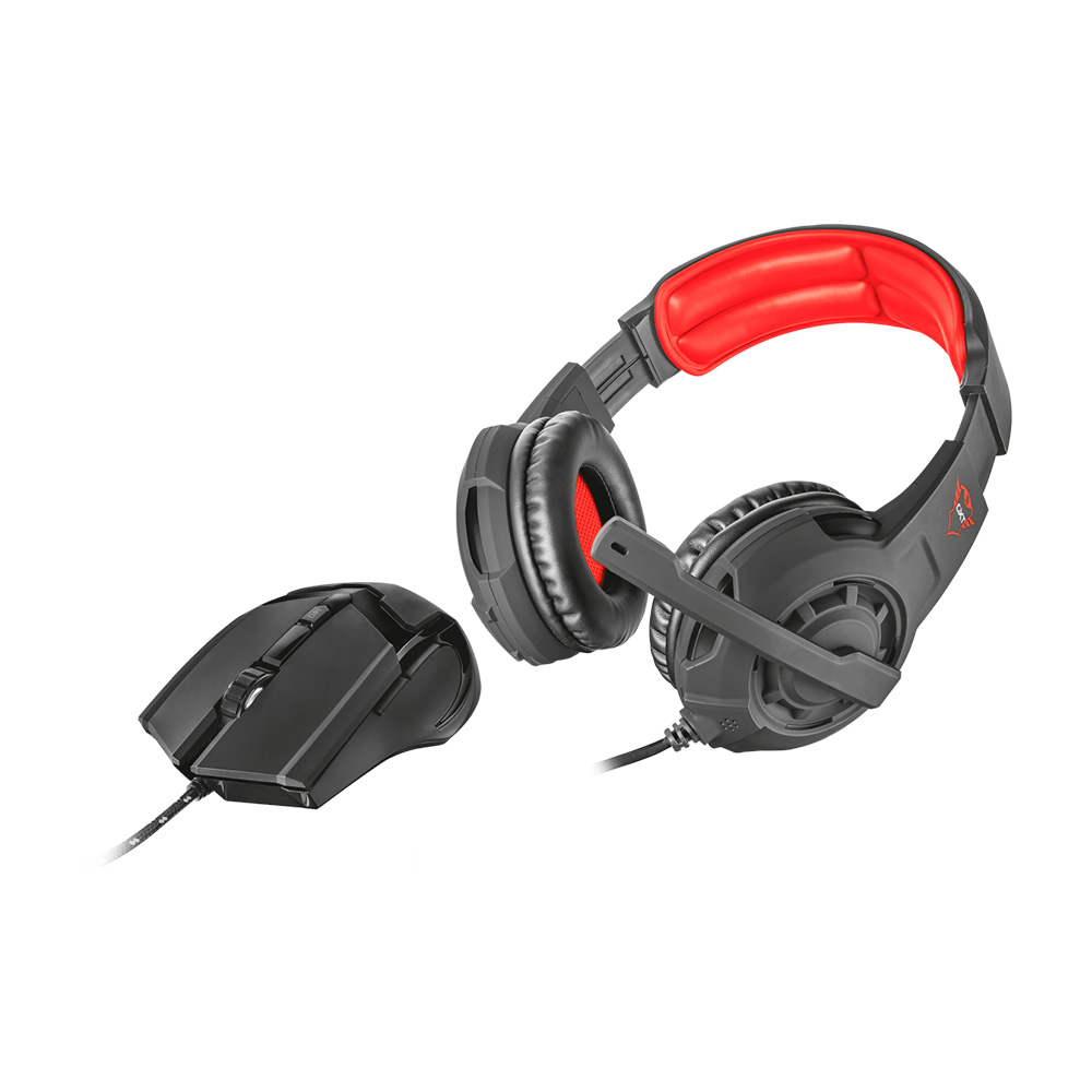 Trust Combo Gxt 784 Auriculares Y Mouse