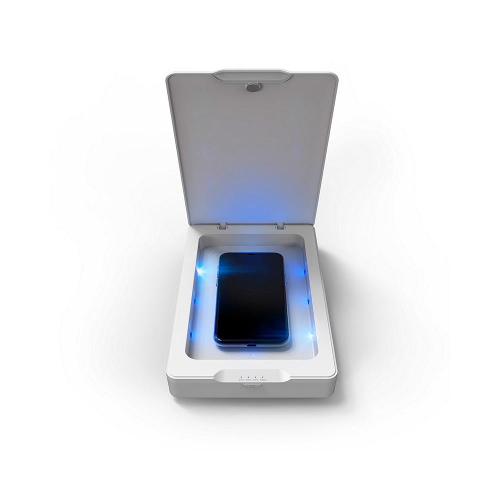 Zagg Desinfectante Teléfonos Uso Diario Luces U