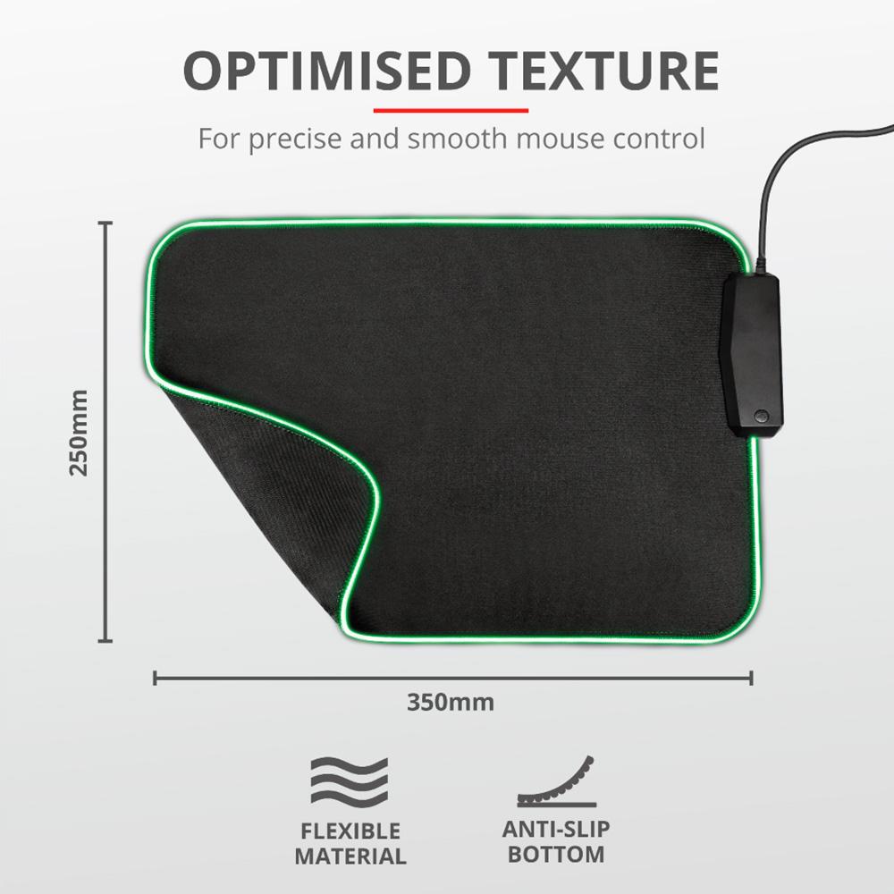 Pad Mouse Trust Gxt765 Glide. Diseno Flexible
