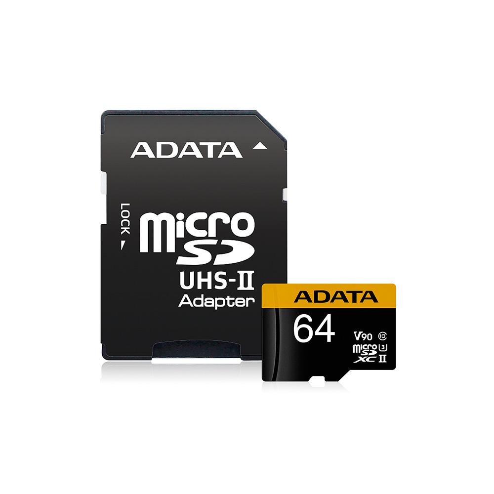 Adata Memoria Adata Premier One Microsdxc Uhs-Ii U3 De 64 Gb