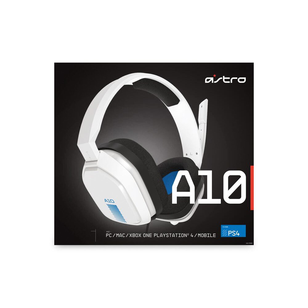 Audifonos Diadema Logitech Astro A10 Blanca Para Ps4