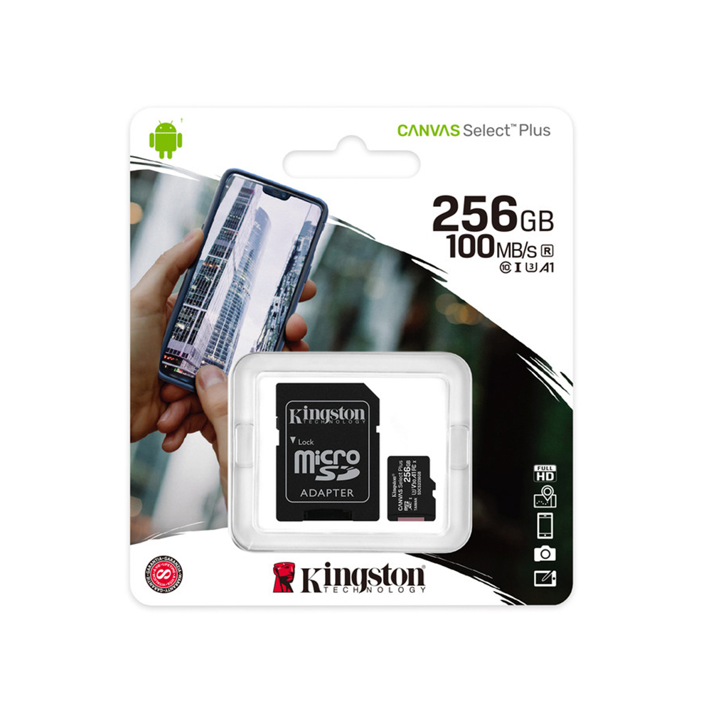 Memoria Micro Sd 256Gb Kingston Canvas