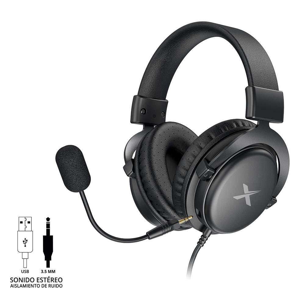 Diadema X-Kim Th33O Thunderx Con Microfono Desmontable