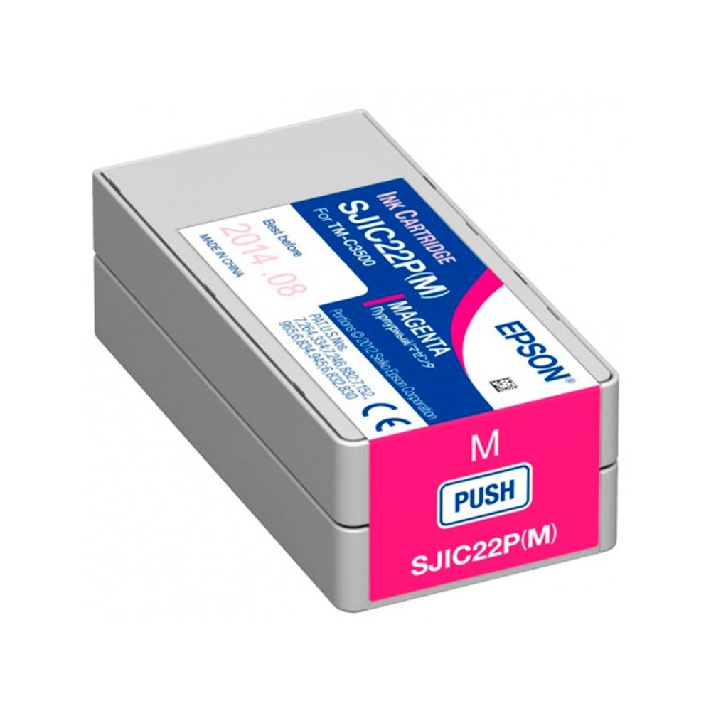 Cartucho Epson SJIC22P Magenta