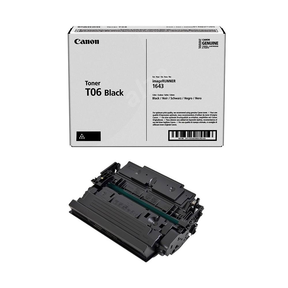 Toner Canon T06 Negro, 20.500 Paginas