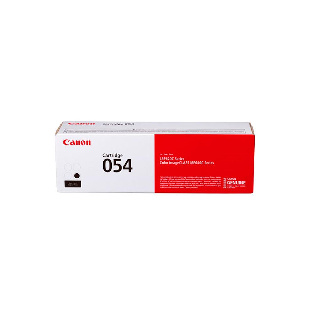 Toner Canon Cartridge 054H Alto Rendimiento, Negro, 3100 Paginas