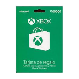 Microsoft Tarjeta Xbox Live 100.000 K4w-03313