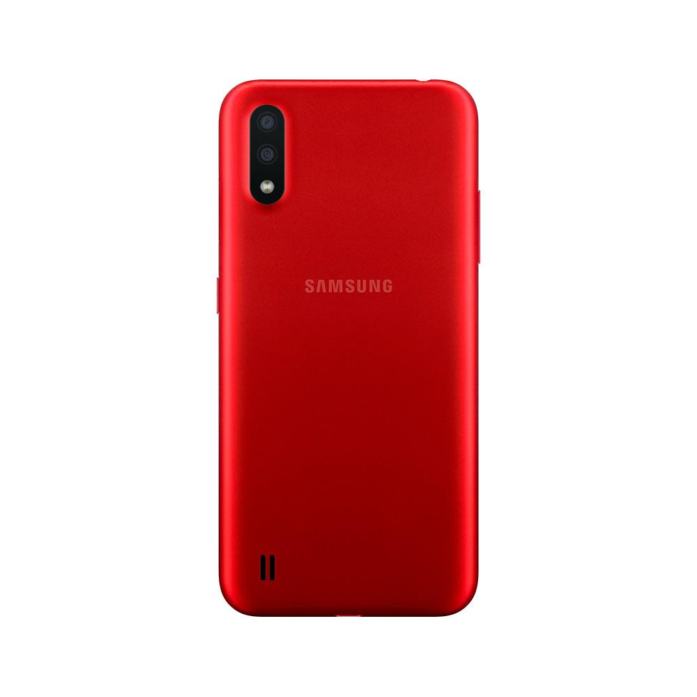 Celular Libre Samsung Galaxy A01 Rojo 16Gb