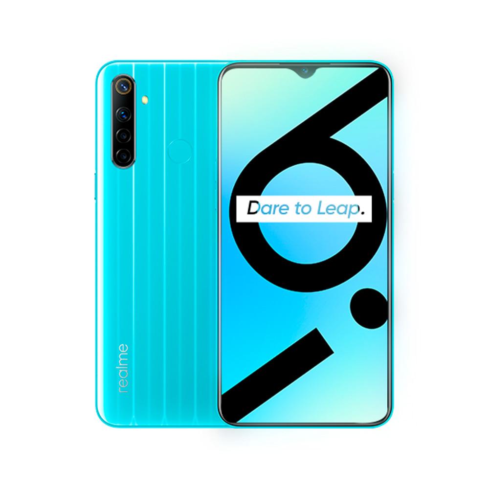 Celular Libre Realme 6I Modelo Rmx2040 128Gb Azul