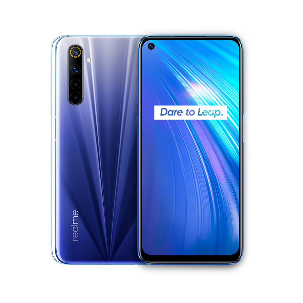 Celular Libre Realme 6 Modelo Rmx2001 128Gb Azul