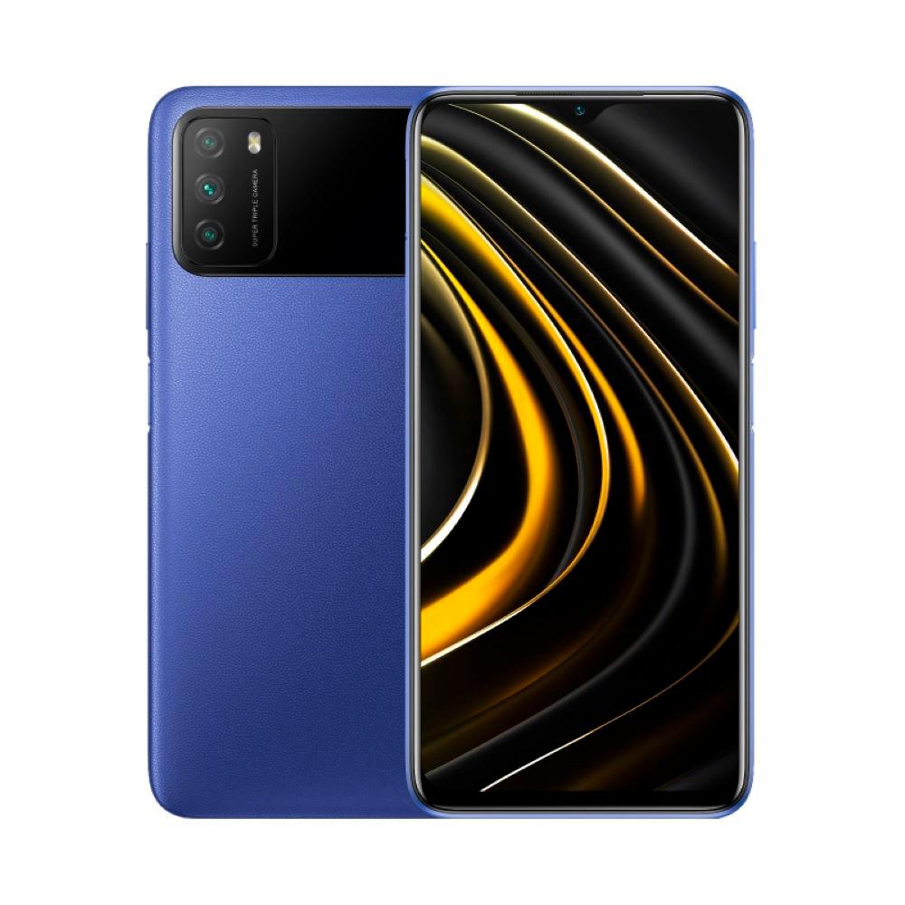 Celular Libre Xiaomi Poco M3 Eu 128G Cool Blue